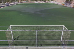 Synthetic Grass Soccer Field Royalty Free Stock Photo