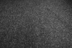 Synthetic gray-black hair rug, Used in cars as a dust collector. royalty free stock photography
