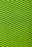 Synthetic green cloth. grid closeup. macro Royalty Free Stock Photos