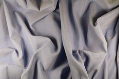 Synthetic lilac fabric. Made of microfiber Stock Photography