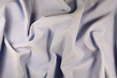 Synthetic lilac fabric. Made of microfiber Stock Image