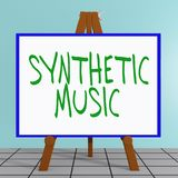 Synthetic Music concept Stock Images