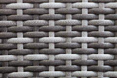 Synthetic rattan texture weaving Royalty Free Stock Photography