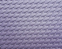 Synthetic rattan texture weaving Royalty Free Stock Images