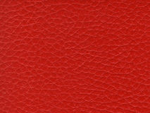 Synthetic Red Leather Texture Royalty Free Stock Images