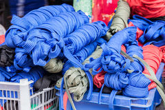 Synthetic rope Royalty Free Stock Images