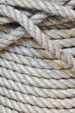 Synthetic rope background Stock Photo