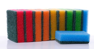Synthetic sponge Stock Photos