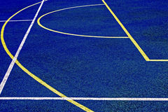 Synthetic sports field 32 Royalty Free Stock Photo