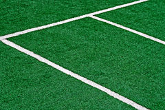 Synthetic sports field 34 Stock Photography