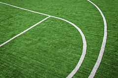 Synthetic sports field 37 Royalty Free Stock Photos
