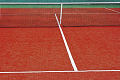 Synthetic sports field for tennis 12 Stock Photography