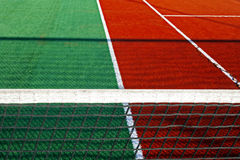 Synthetic sports field for tennis 9 stock photos