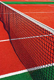 Synthetic sports field for tennis 15 Royalty Free Stock Photos
