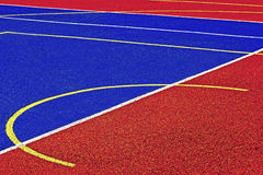 Synthetic sports field 41 Royalty Free Stock Photos