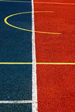 Synthetic sports field 43 royalty free stock photography