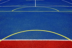 Synthetic sports field 28 Royalty Free Stock Photo