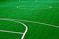 Synthetic sports field 36 Stock Photo