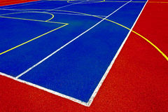 Synthetic sports field 47 Royalty Free Stock Image