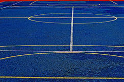 Synthetic sports field 24 Royalty Free Stock Images