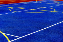 Synthetic sports field 26 Royalty Free Stock Image