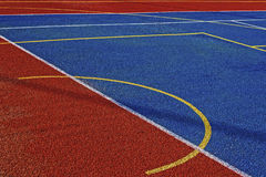 Synthetic sports field 6 Stock Image