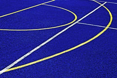 Synthetic sports field 40 Royalty Free Stock Images