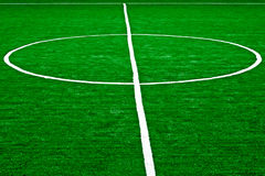 Synthetic sports field 56 Stock Photography
