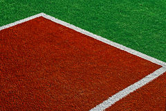 Synthetic sports field 15 Stock Photo