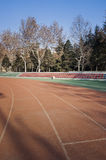 Synthetic surface ground Royalty Free Stock Photo