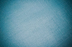 Synthetic textile with light blue color background Royalty Free Stock Images