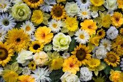 Synthetische bloem Stock Afbeeldingen