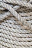 Synthetischer Seilhintergrund Stockfoto