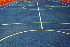 Synthetisches Sportfeld 1 Lizenzfreies Stockbild