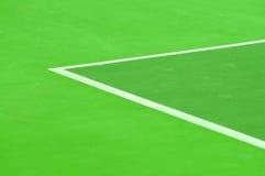 Synthetisches Tennisgericht Lizenzfreie Stockbilder