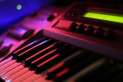 Synthétiseur Image libre de droits