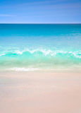 Synvinkel för landskap för avkoppling för dagsljus för sol för sand för blå himmel för havsstrand för designvykort och kalender fotografering för bildbyråer