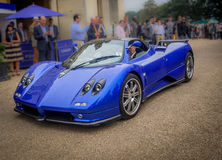 Syon公园,伦敦沙龙Prive超级体育汽车展示Ferarri, Zonda, BMW,弯, Bugatti,制表人,莲花,阿尔法 库存图片