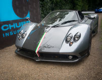 Syon Park, London Salon Prive Super Sports motor car show Ferarri, Zonda, BMW, Bently, Bugatti, Lister, Lotus, Alfa Stock Image