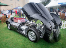 Syon Park, London Salon Prive Super Sports motor car show Ferarri, Zonda, BMW, Bently, Bugatti, Lister, Lotus, Alfa Stock Images