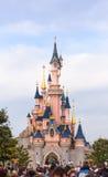 Sypialnego piękna kasztel symbol Disneyland Paryż Zdjęcia Stock