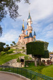 Sypialnego piękna kasztel symbol Disneyland Paryż Fotografia Royalty Free