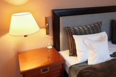 sypialni łóżkowa poduszka obraz royalty free