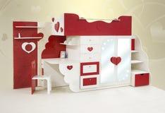 sypialni dzieci Zdjęcia Royalty Free