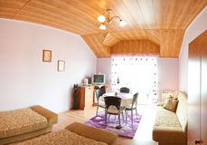 sypialni hotelu panorama Obrazy Stock