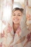 sypialni kobiety potomstwa Obrazy Royalty Free