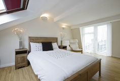 sypialni loft Zdjęcia Stock