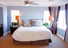 sypialni nowożytny mistrzowski Zdjęcie Stock