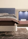 sypialni projekta elegancki wewnętrzny luksus Zdjęcia Royalty Free