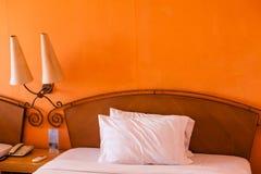 Sypialni wnętrza obrazy stock